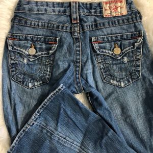 True Religion Jeans - RIPPED DENIM JEANS TRUE RELIGION